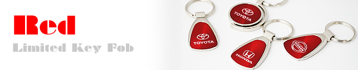 RED LIMITED KEY FOB